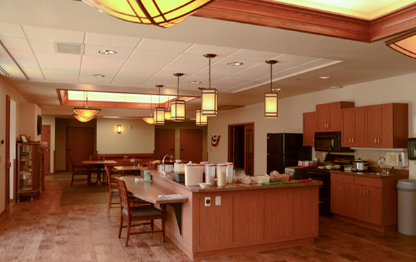 Spring Valley Senior Living and Health Care Campus Kitchen