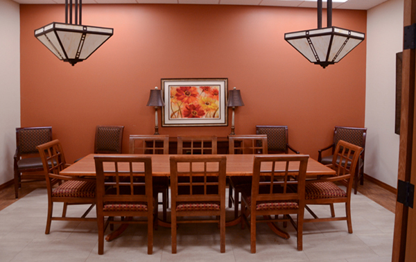 Spring Valley Senior Living and Health Care Campus Family dining room
