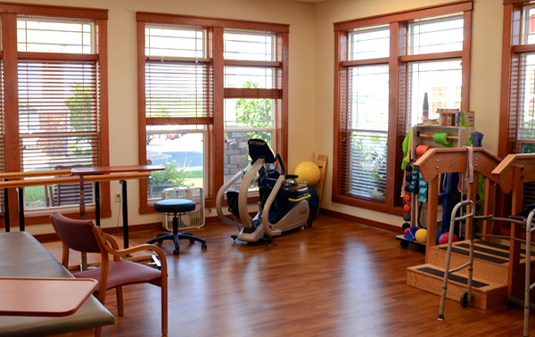 Spring Valley Senior Living and Health Care Campus Fitness Room